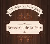 Logo Restaurant Brasserie de la Paix