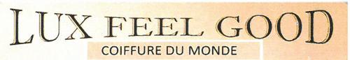 Logo Lux Feel Good Coiffure du Monde