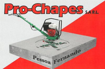 Logo Pro-Chapes Sàrl
