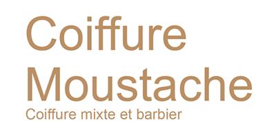 Logo Moustache Coiffure
