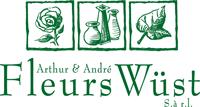 Logo Fleurs Arthur & André Wüst