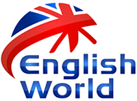 Logo English World