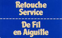 Logo Retouche Service