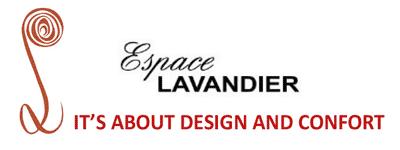 Logo Lavandier Bureau de conseils en décoration d'intérieurs