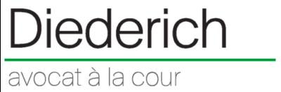 Logo Diederich René - Avocat à la Cour