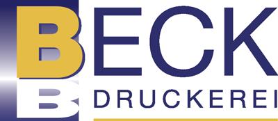 Logo Druckerei Beck