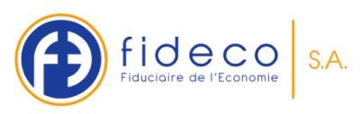 Fideco, Fiduciaire de l'Economie