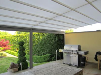 Ziewers - Aménagement de jardin, Auvent en verre : Editus
