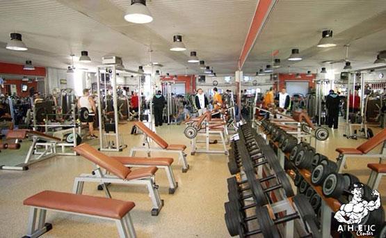 athletic center salle de musculation editus