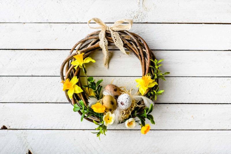 Un intérieur qui sent bon le printemps grâce aux fleurs !