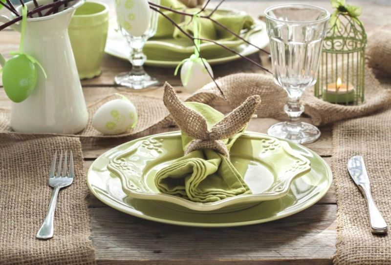 Creative tips to decorate your Easter table