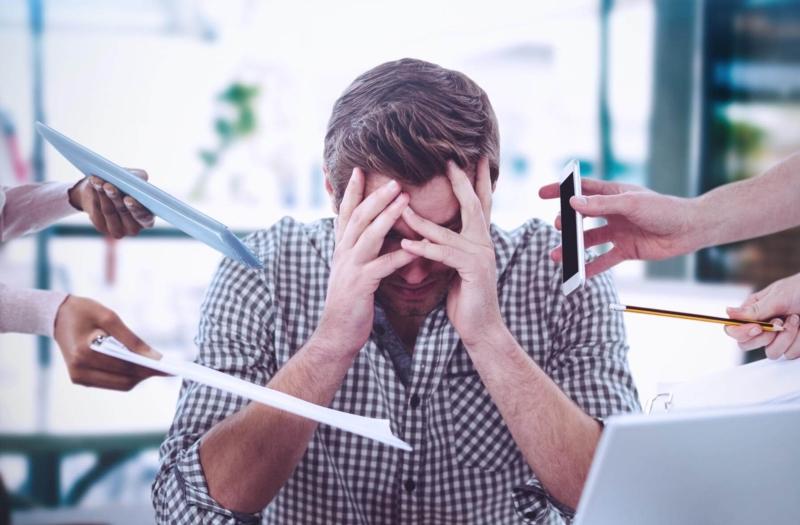 Zen im Büro: Stressbewältigung bei der Arbeit