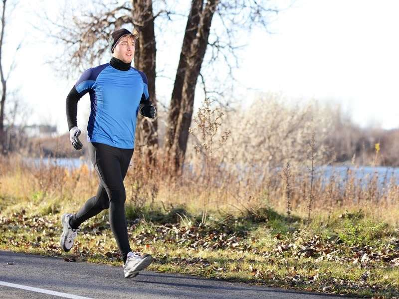 Three tips for running in cold weather