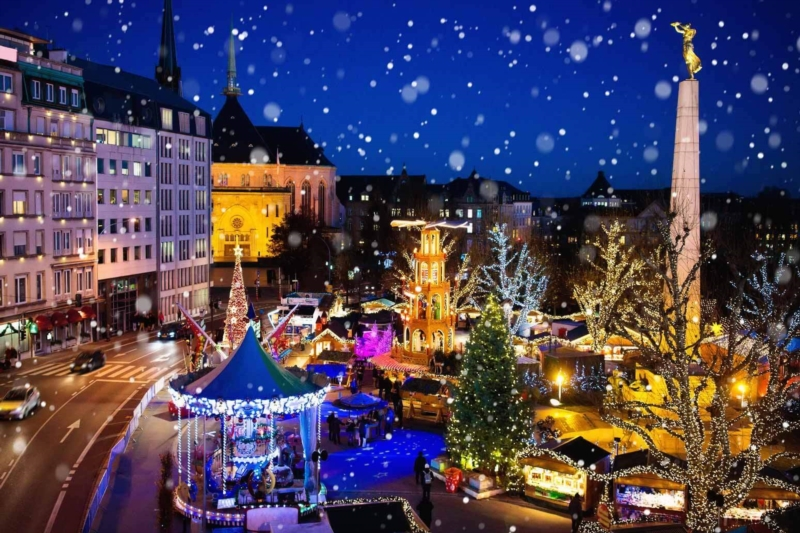 The magic of Christmas is coming to Luxembourg!