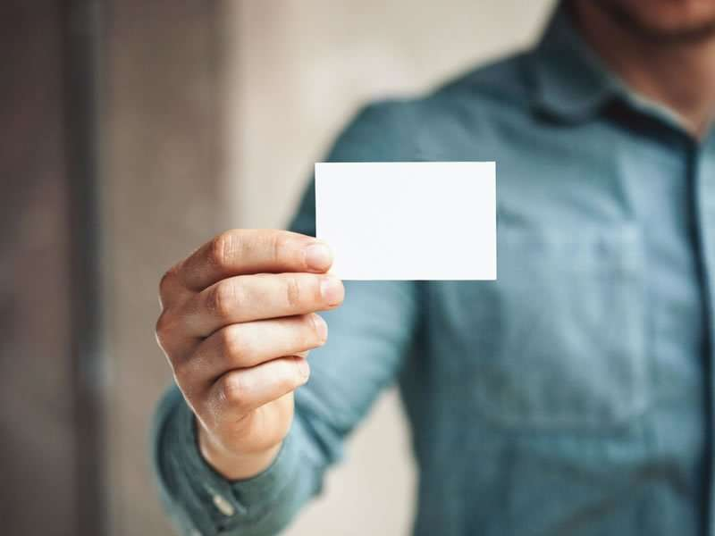 8 goldene Regeln für erfolgreiche Visitenkarten