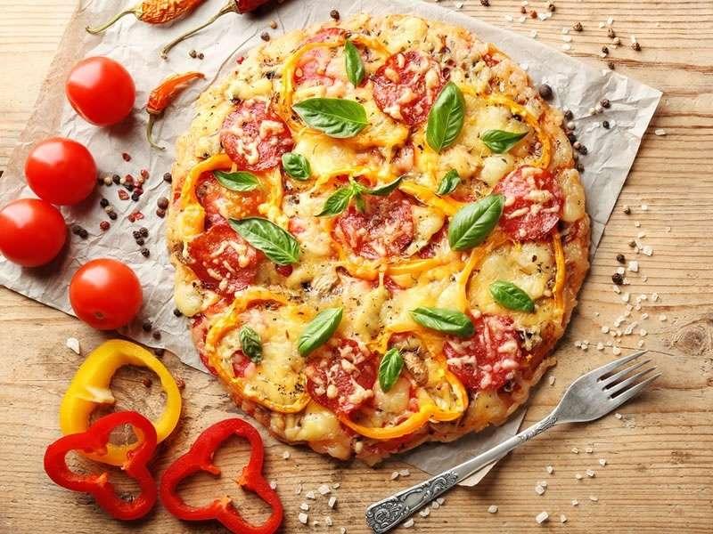 manger une pizza pendant un régime