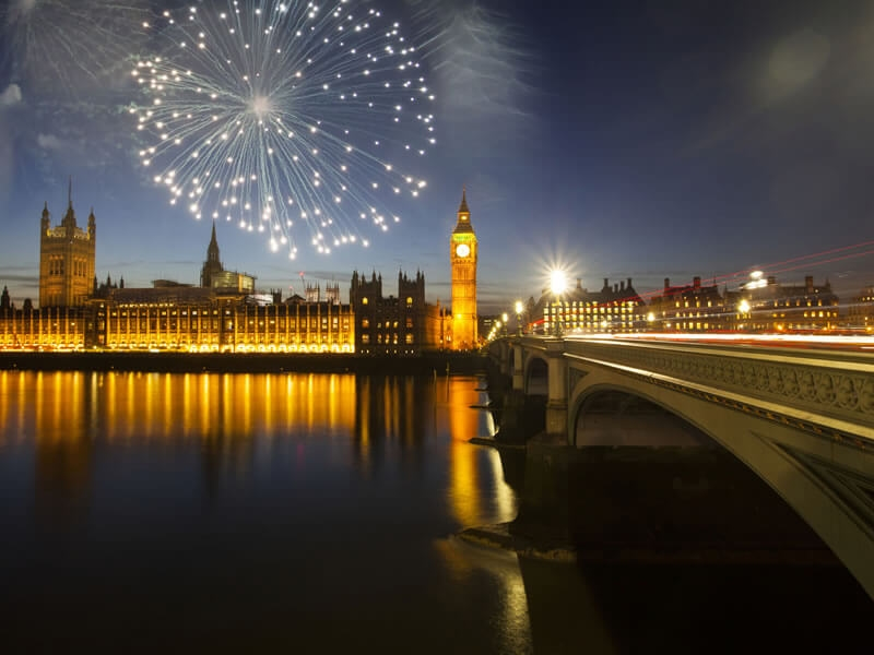 14 destinations to spend New Year's Eve 2018