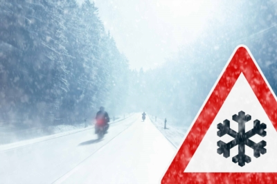 Good tips for driving your motorcycle in winter