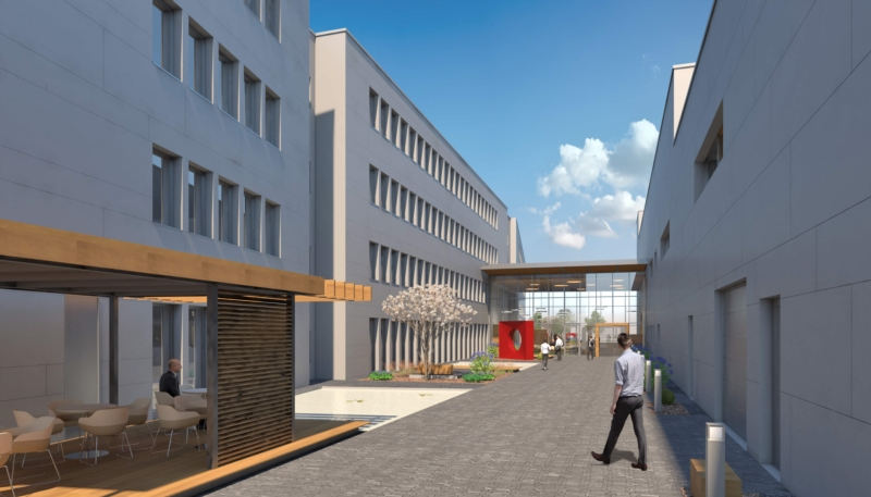 IEE, new administrative building