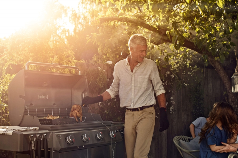 Incorporate a barbecue area in your garden