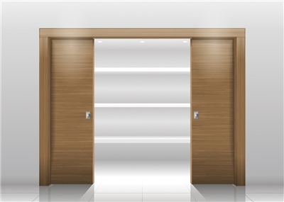 La porte à galandage, la porte pratique !