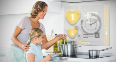 Appliances connected home automation