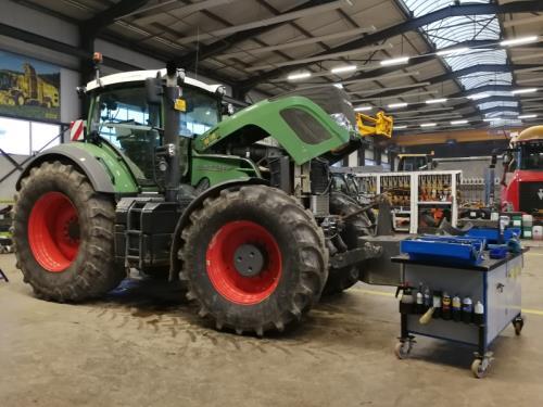 Atelier pour machines agricoles et de génie civil