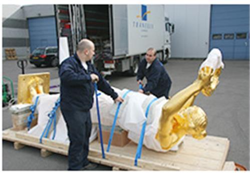 Transport d'objet d'art