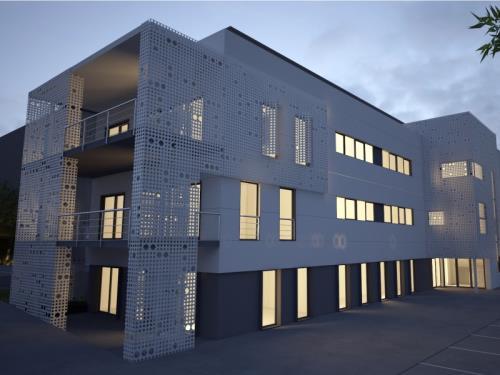 Hall industriel à Troisvierges (LU)