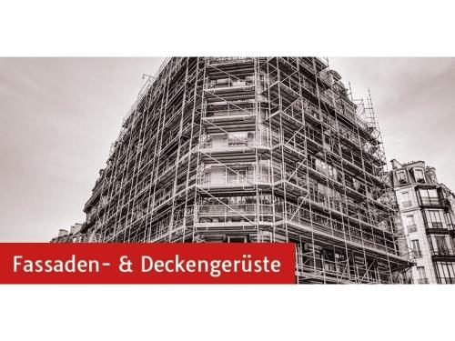 Fassaden- und Deckengerüste