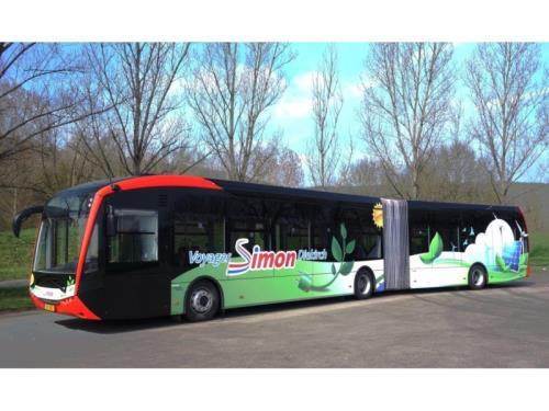 Sileo S18 EBus Gelenkbus