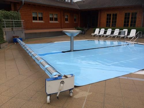 Bâche de protection (piscine)