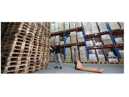 Vente, livraison et gestion de stock de palettes