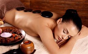 Massage aux pierres chaudes 50 min