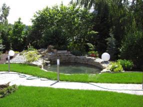 Création d'étang