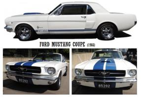 "Rent a Mustang Model ""Coupe"""