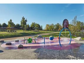 Universum Spraypark für die Kleinen