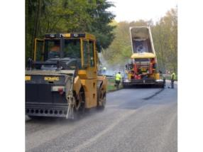 Construction en asphalte