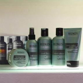 REDKEN FOR MEN - Mint fused technology