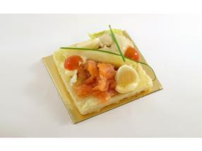 canapé saumon