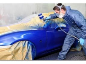 Body works and paint shop