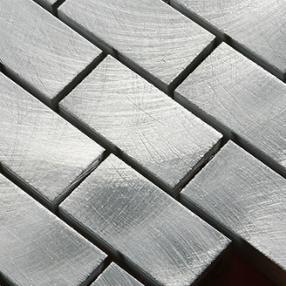 NOUVEAU ! Aluminium brossé