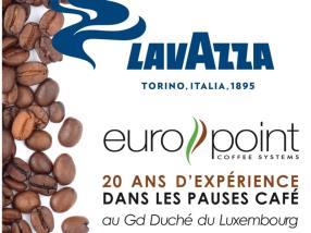 EUROPOINT 20 ANS D'EXPERIENCE dans les pauses café