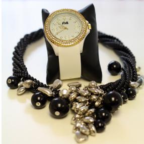 Nos bijoux fantaisie - collier & montre