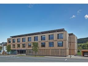 Public positive energy building in Diekirch