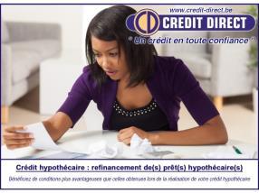 Refinancement crédit hypothécaire / Rachat prêt hypothécaire