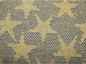 "Polyacryl 64% "" Tissus gelb/Sterne"