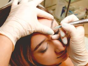 Rehaussement et pigmentation de cils