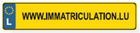 Plaque d'immatriculation