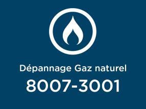 Urgence / Dépannage Gaz naturel 24h/24 - 7j/7